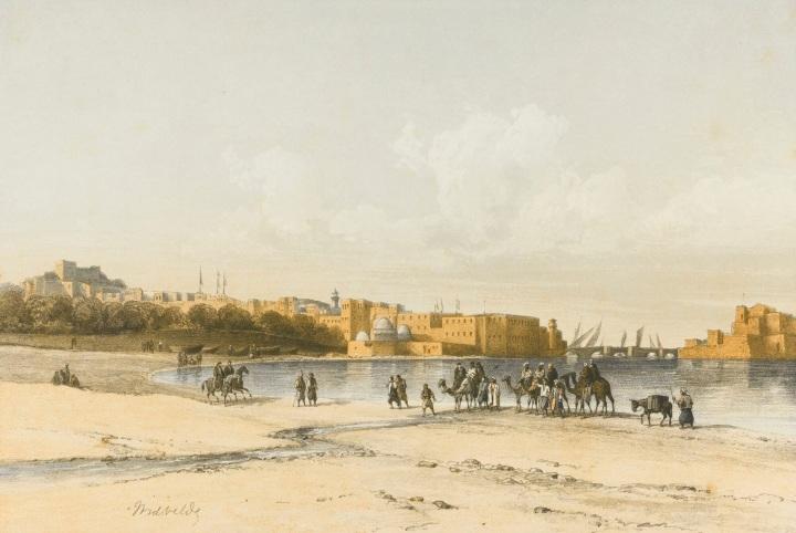 A journey through Lebanon in1851
